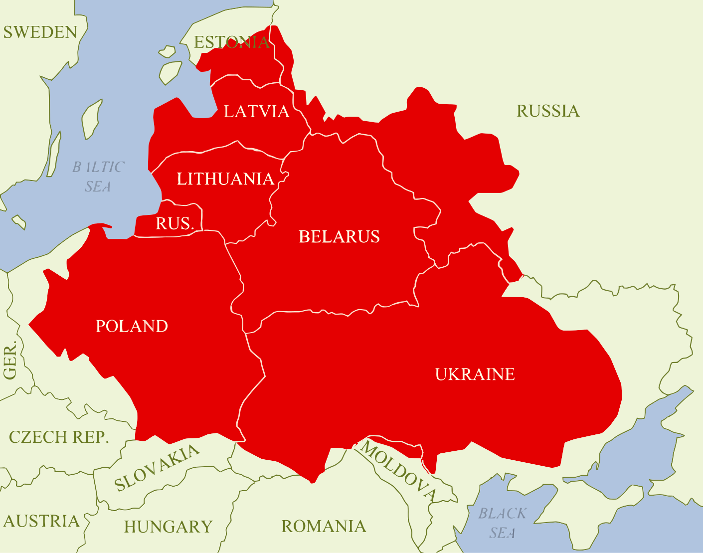 Polish-Lithuanian at its height