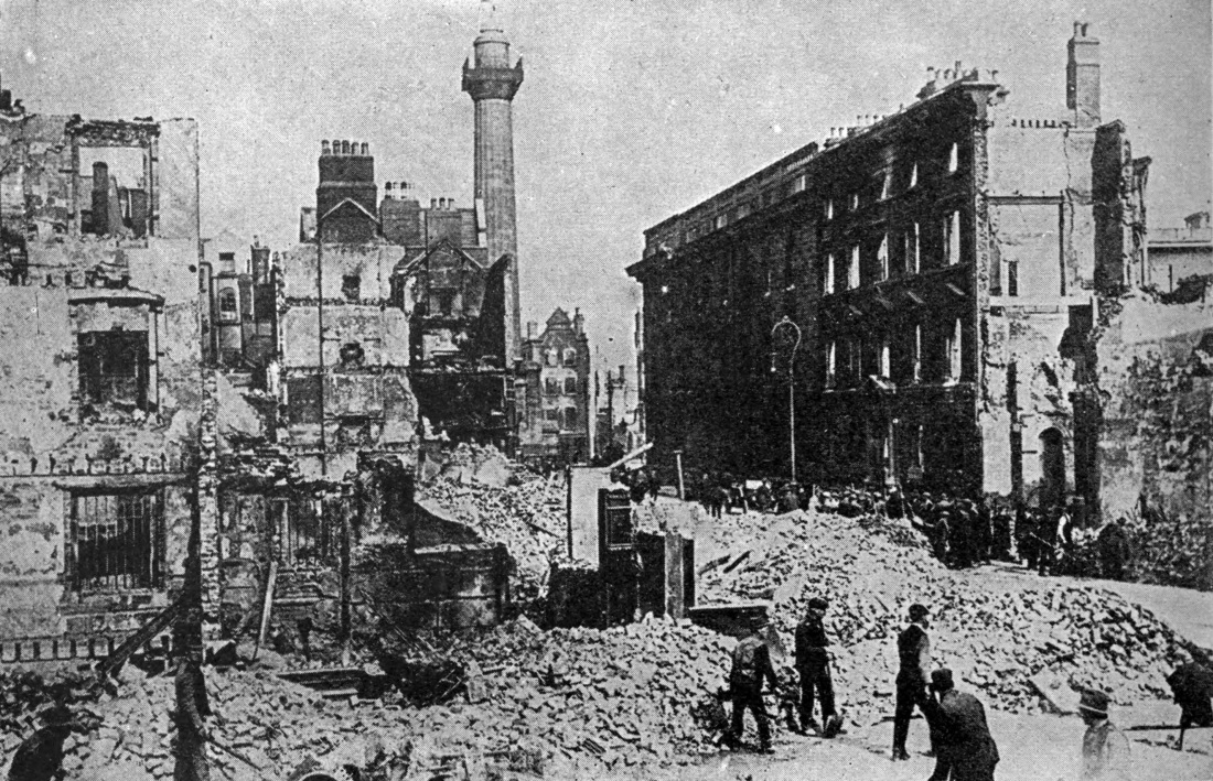 Destruction of the Easter Rising
